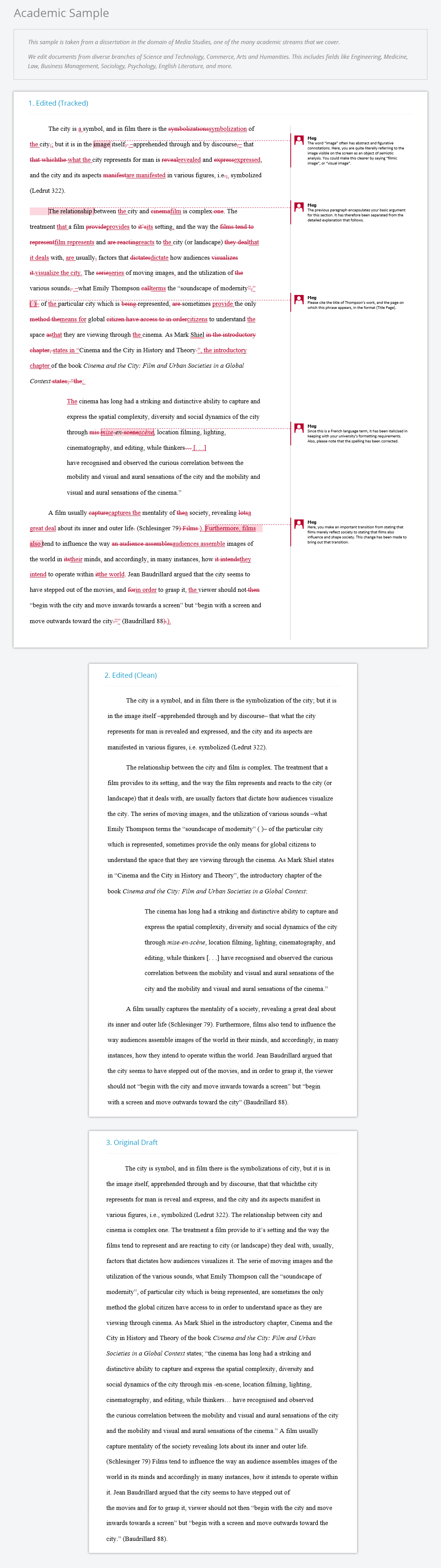 academic proofreading editing for students papertrue academic sample